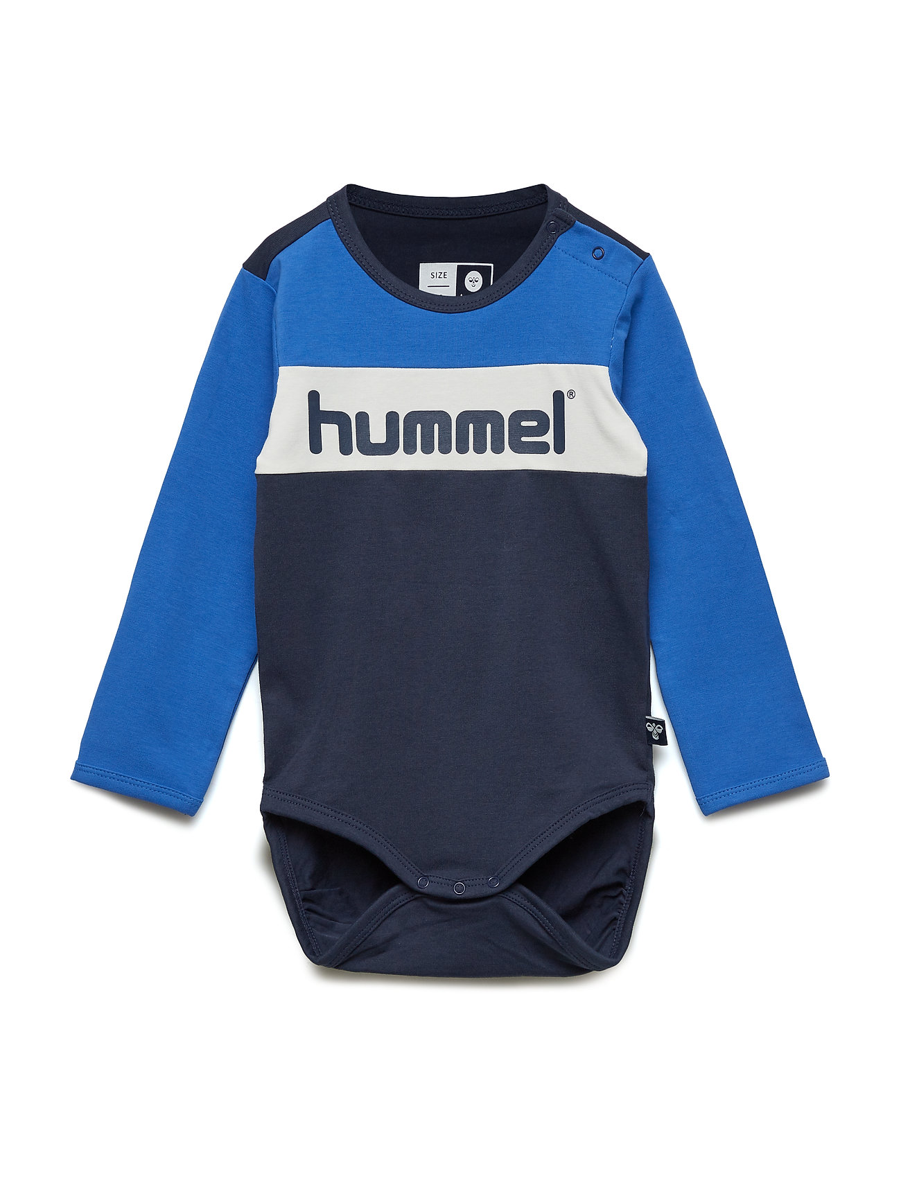 557bf8f54a8 Hmlclyde Body L/s (Black Iris) (12.97 €) - Hummel - | Boozt.com