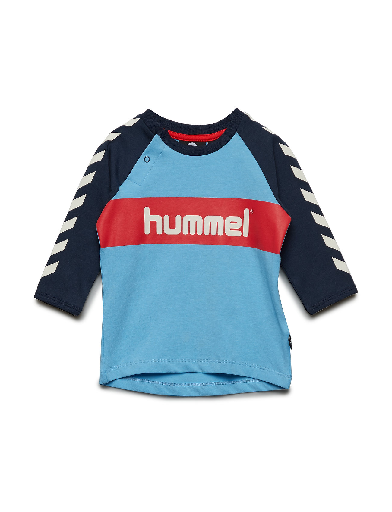 Hummel HMLFLASH T-SHIRT L/S - ETHEREAL BLUE