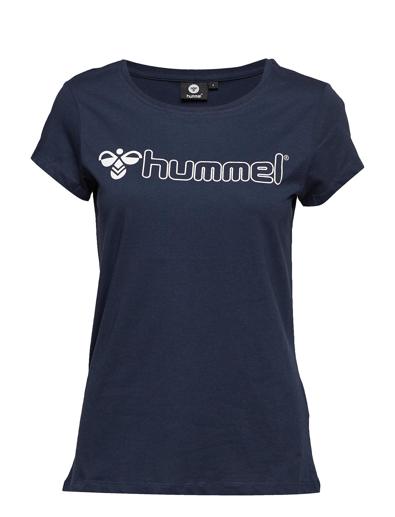Hummel HMLLUCY T-SHIRT S/S - BLACK IRIS