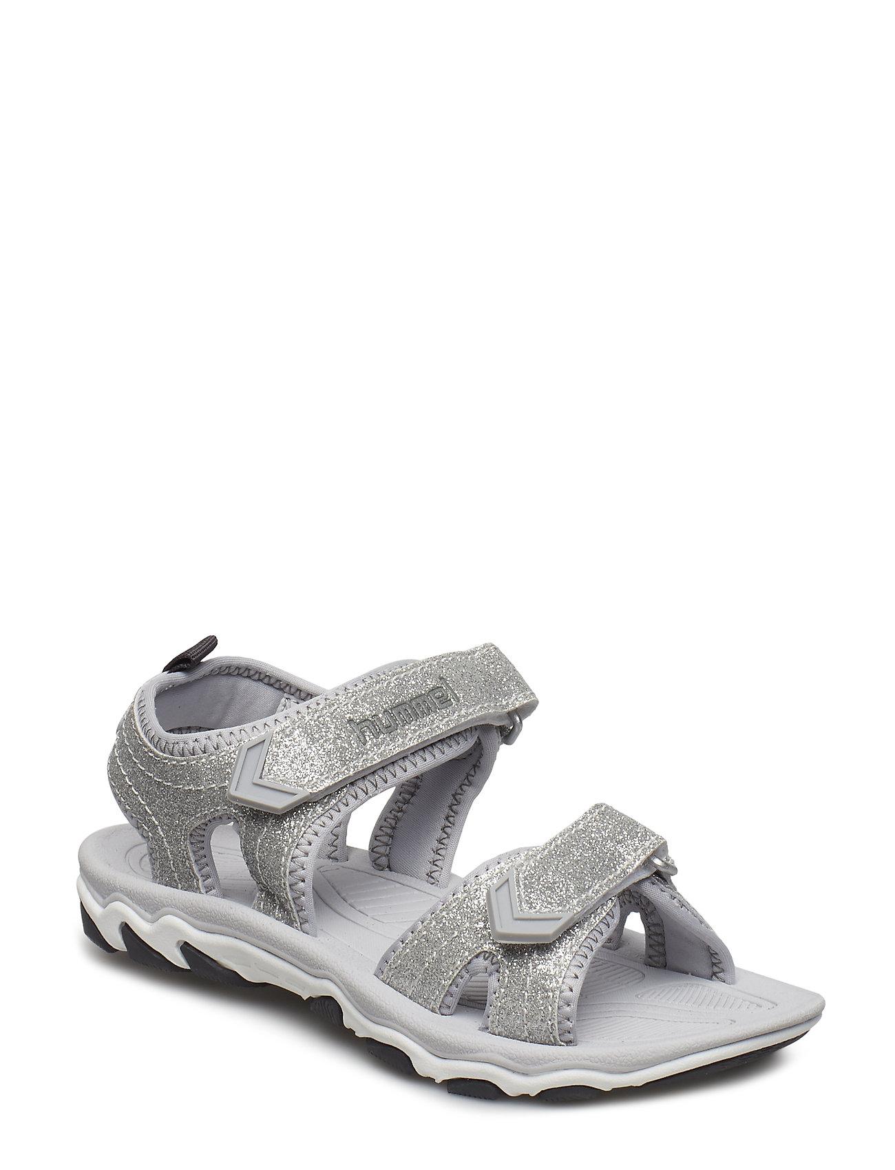 77a927fdcd0 Hummel Sandal Glitter Jr (Silver), (29.96 €) | Large selection of ...