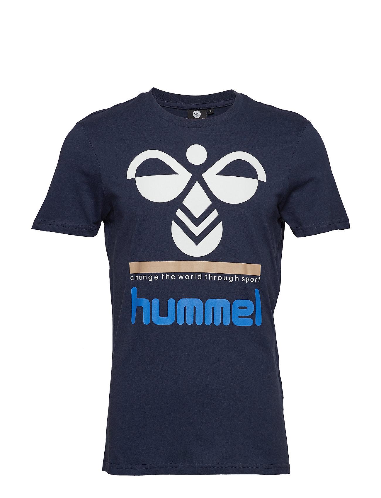 Hummel HMLWINSTON T SHIRT S S Ögrönlar