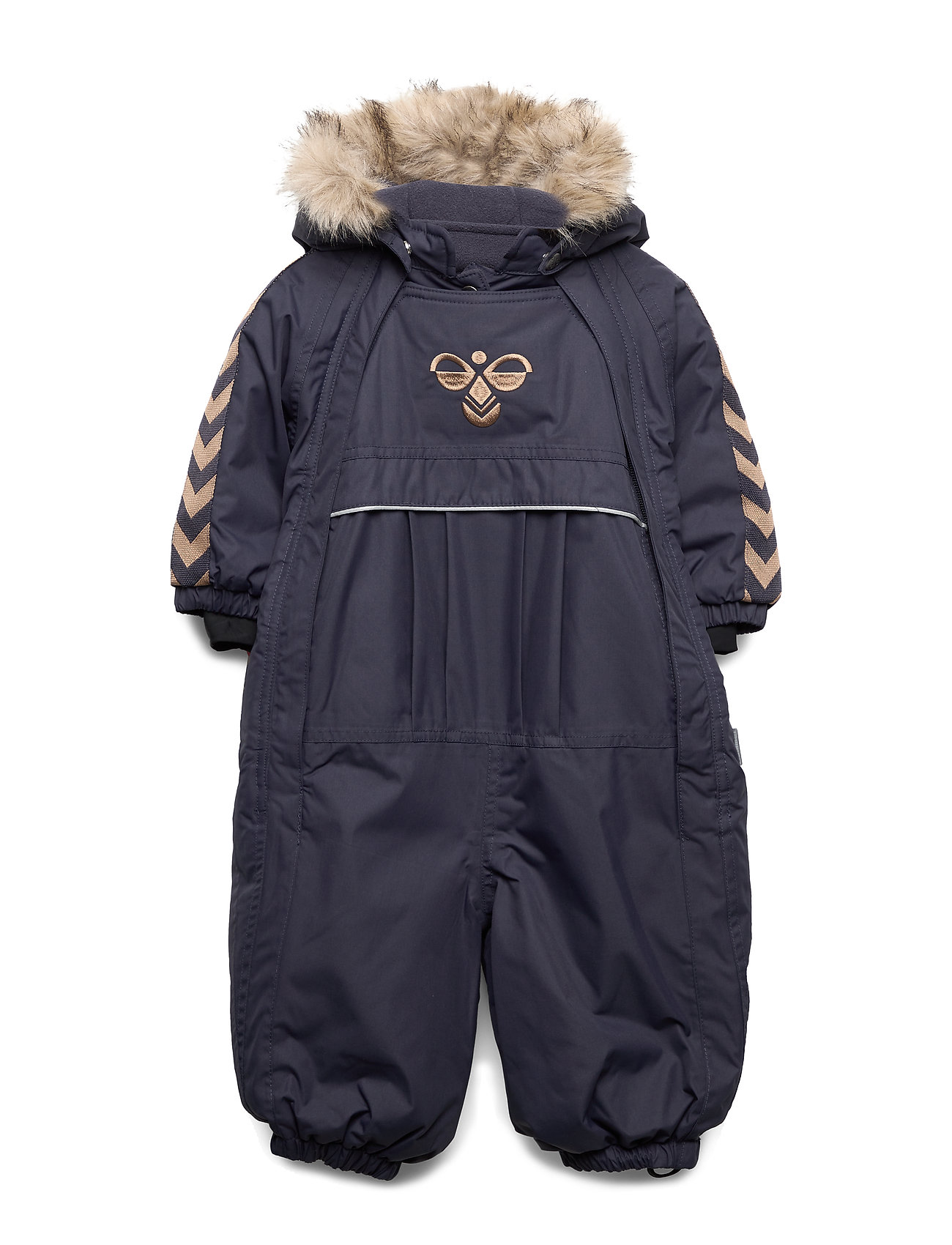 Hummel hmlMOON SNOWSUIT - GRAPHITE