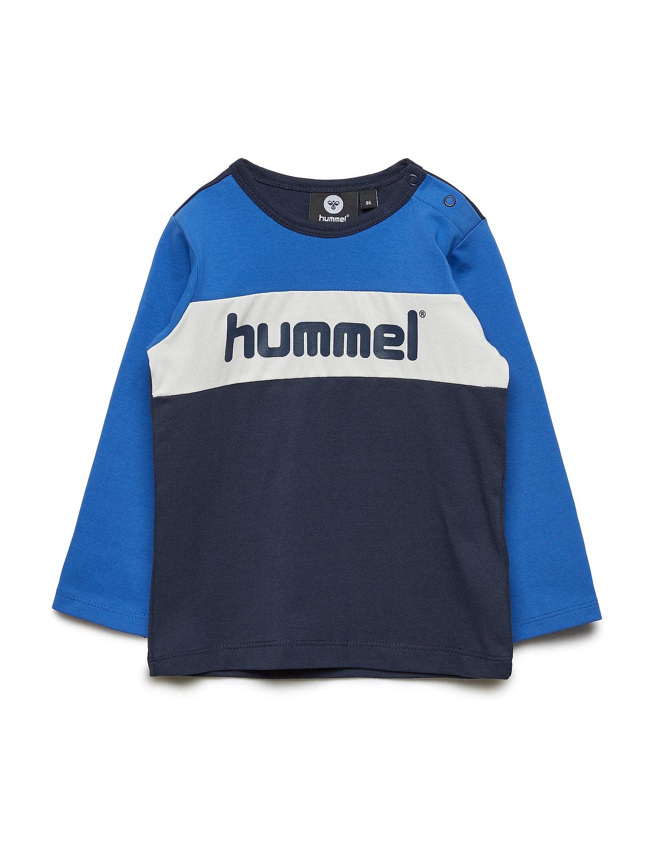 Hummel hmlCLYDE T-SHIRT L/S - BLACK IRIS