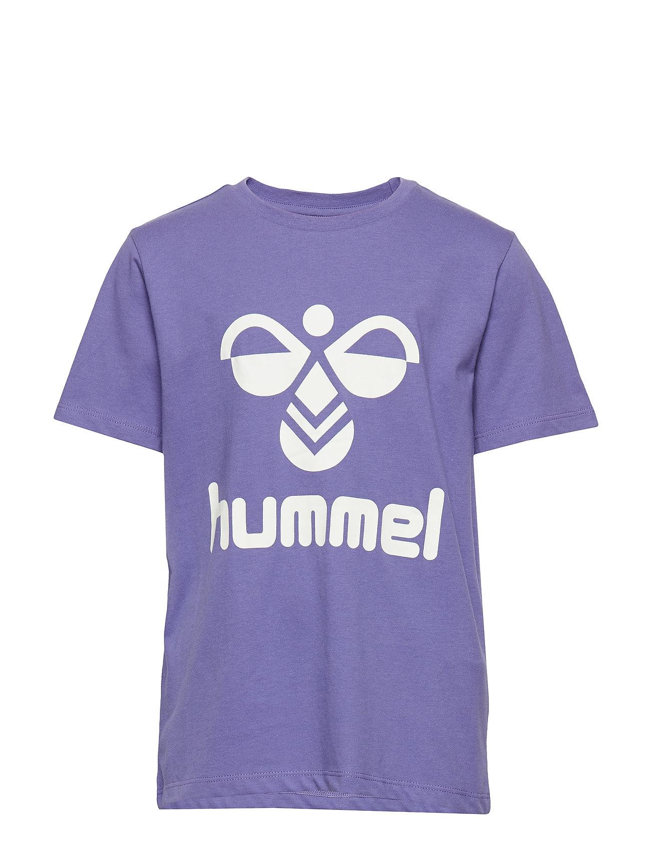 Hummel hmlTRES T-SHIRT S/S - CORSICAN BLUE