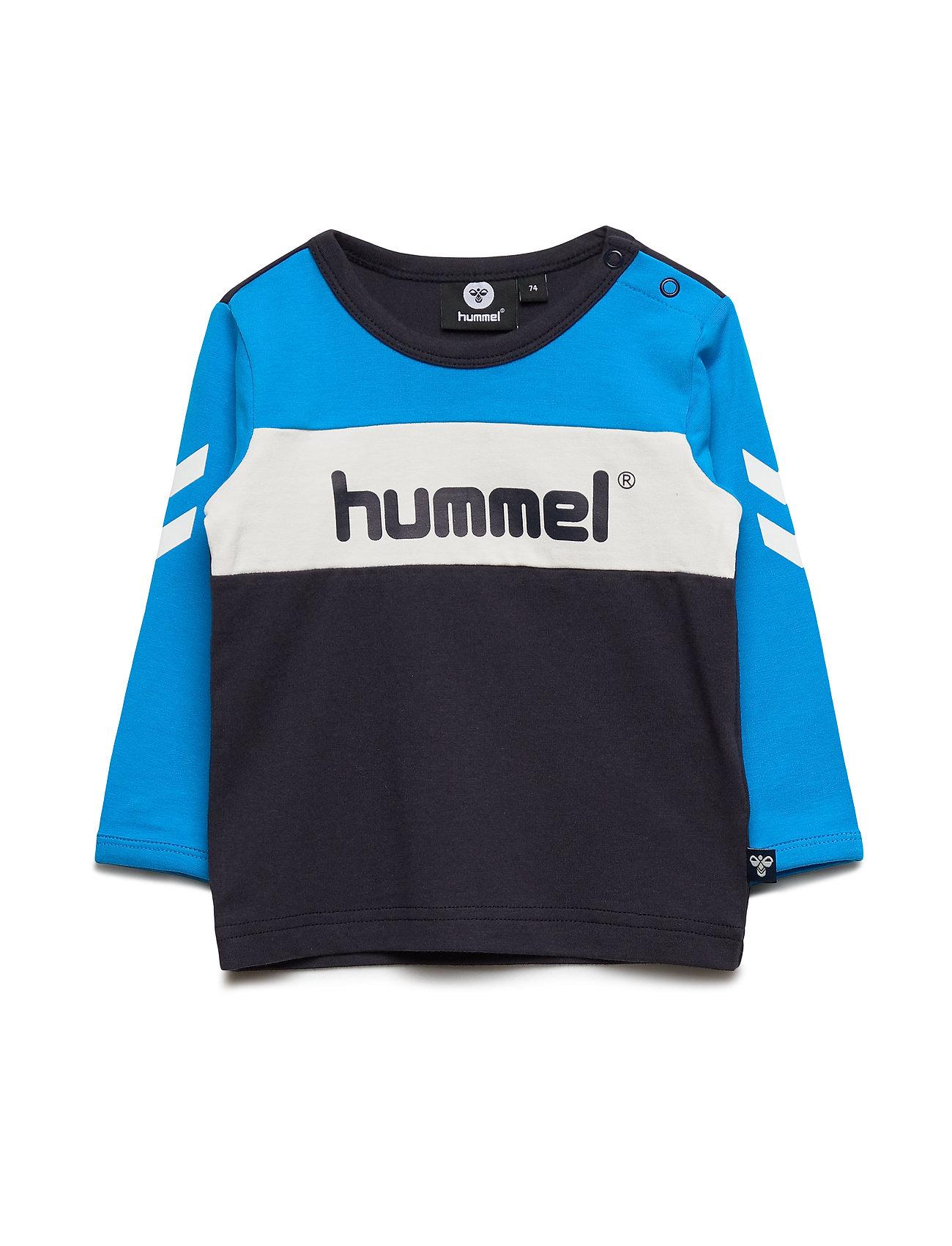 Hummel hmlJENSEN T-SHIRT L/S - DIVA BLUE