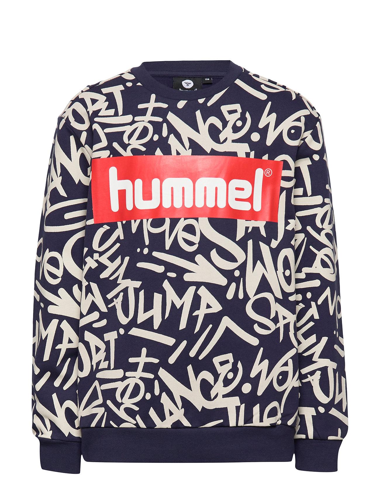 Hummel hmlEDMUND SWEATSHIRT - BLACK IRIS