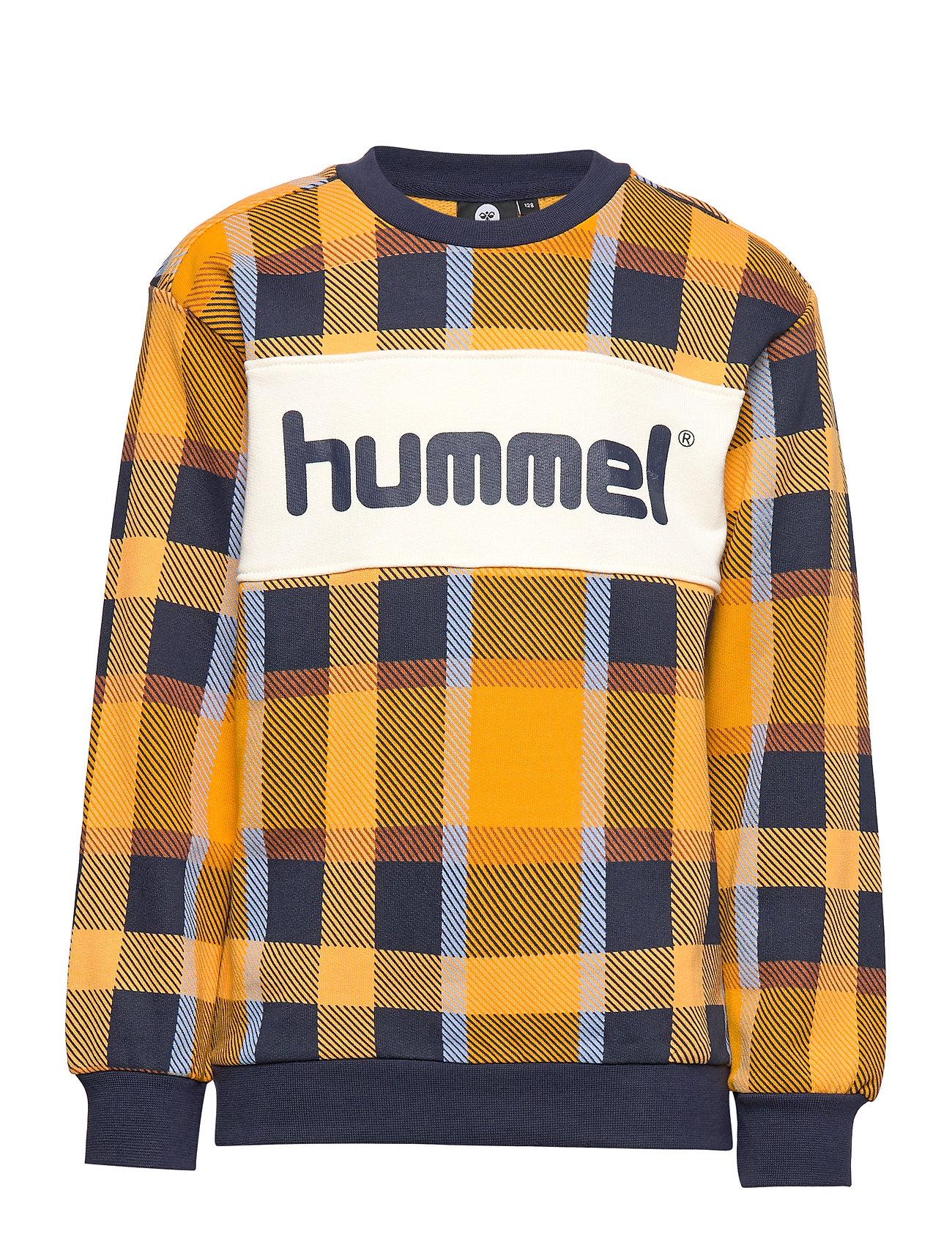 Hummel hmlATLAS SWEATSHIRT - GOLDEN YELLOW
