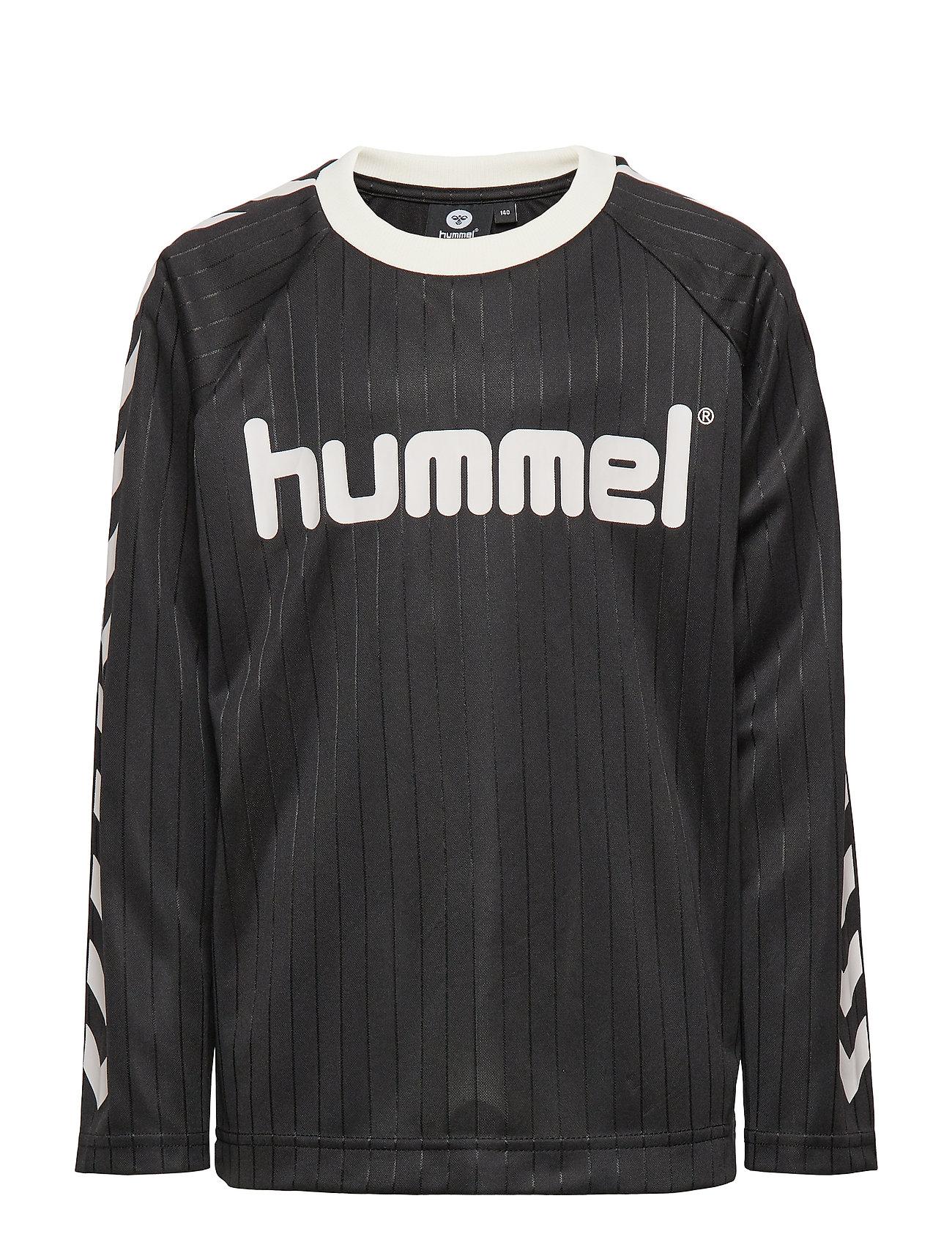 Hummel hmlCLARK T-SHIRT L/S - BLACK