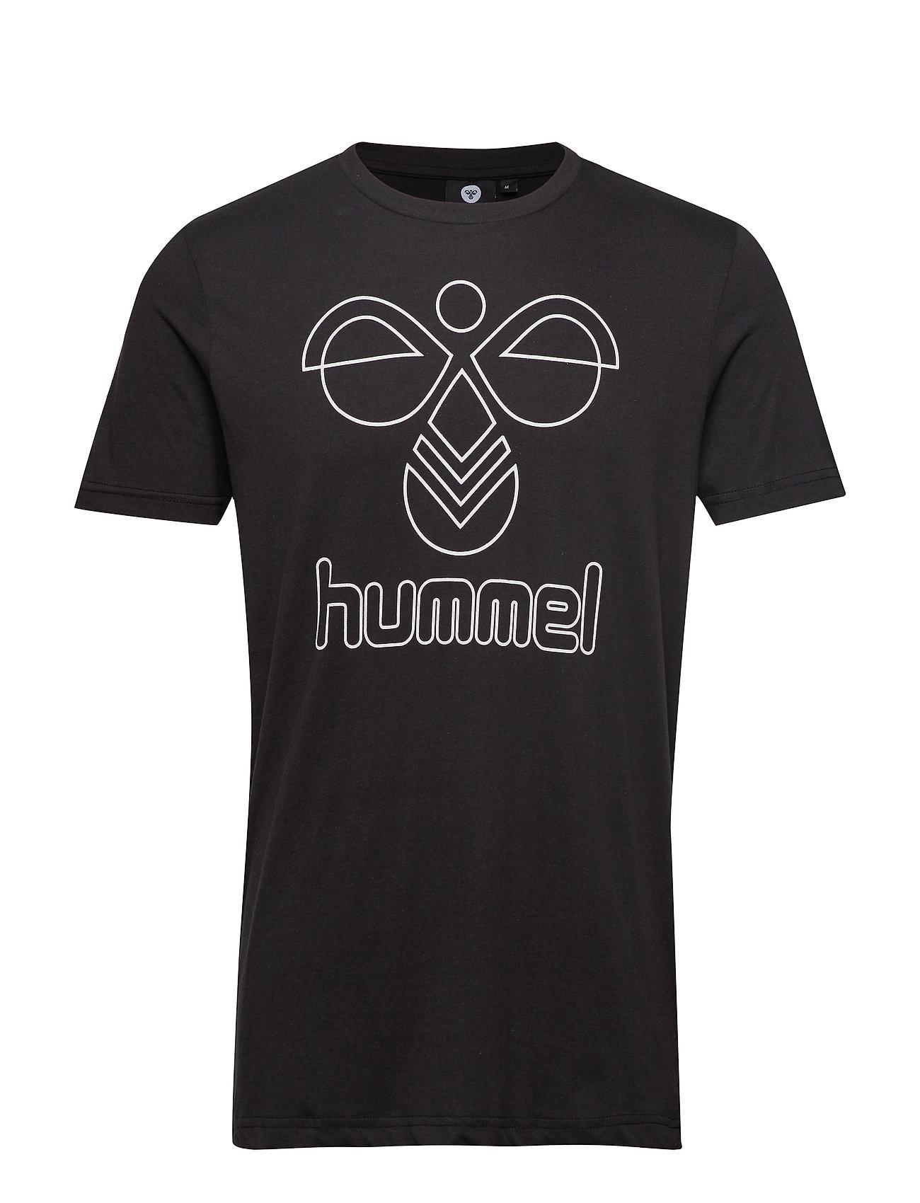 Hummel hmlPETER T-SHIRT S/S - BLACK