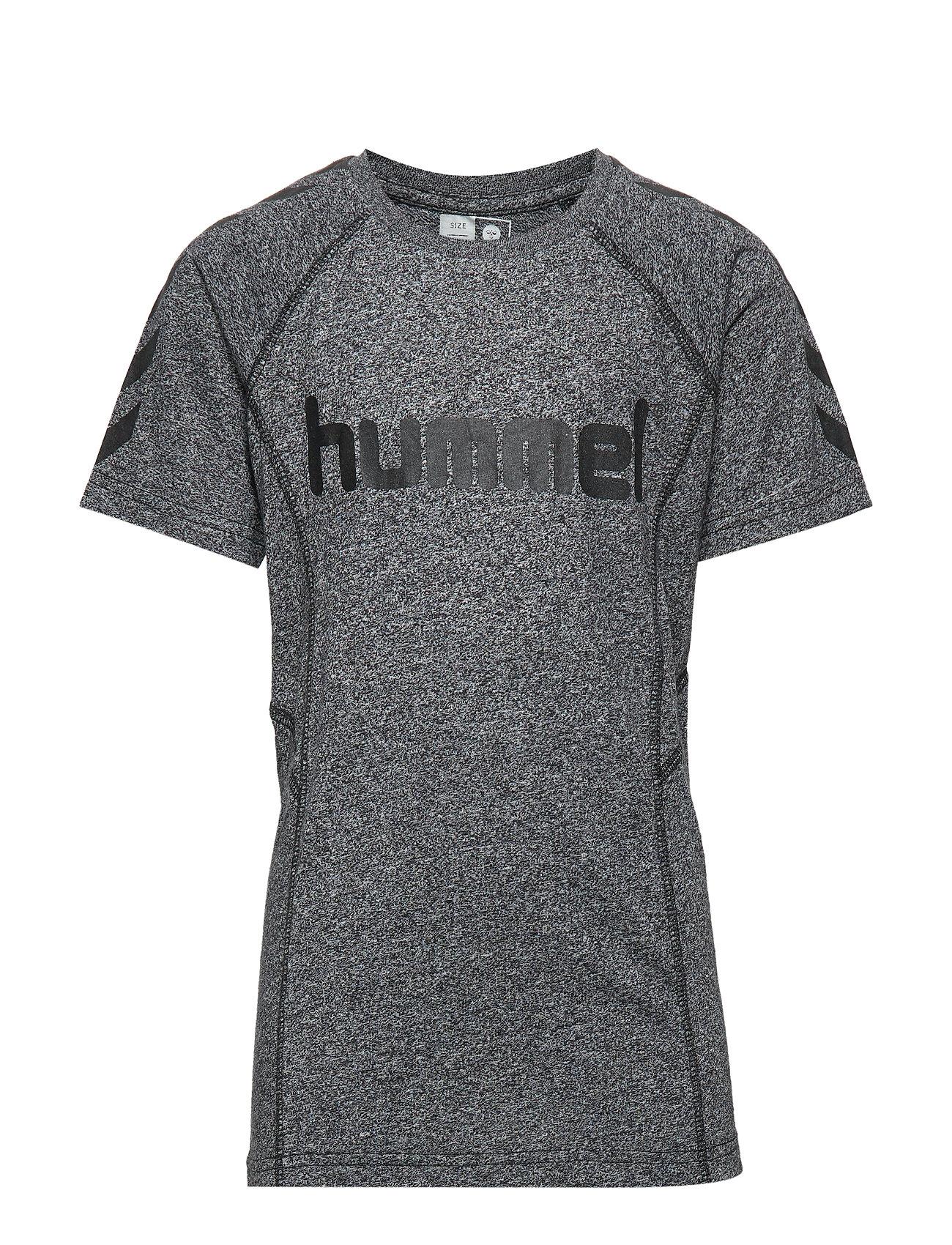 Hummel hmlPITTER T-SHIRT SS - BLACK