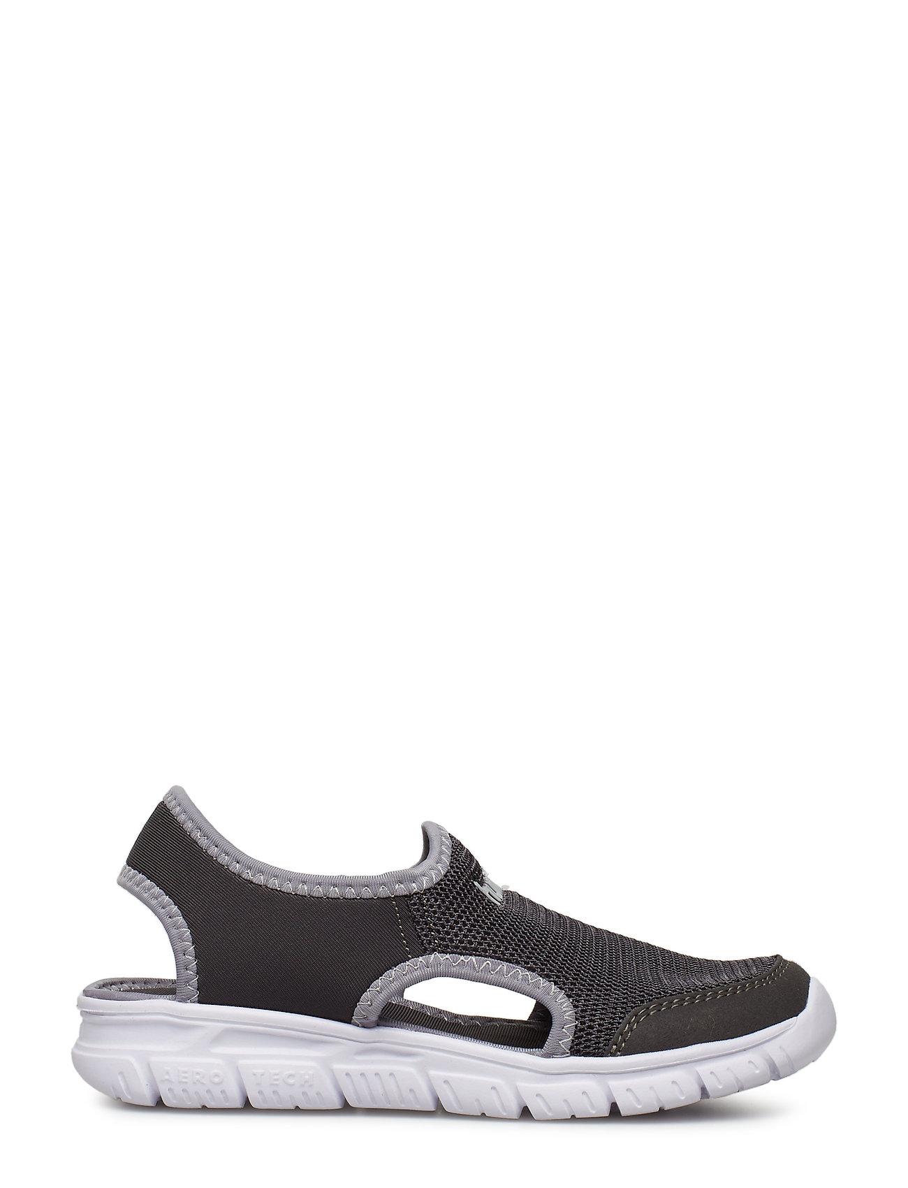 82cf08a11628 Playa Crosslite Jr sandaler fra Hummel til børn i ASPHALT - Pashion.dk