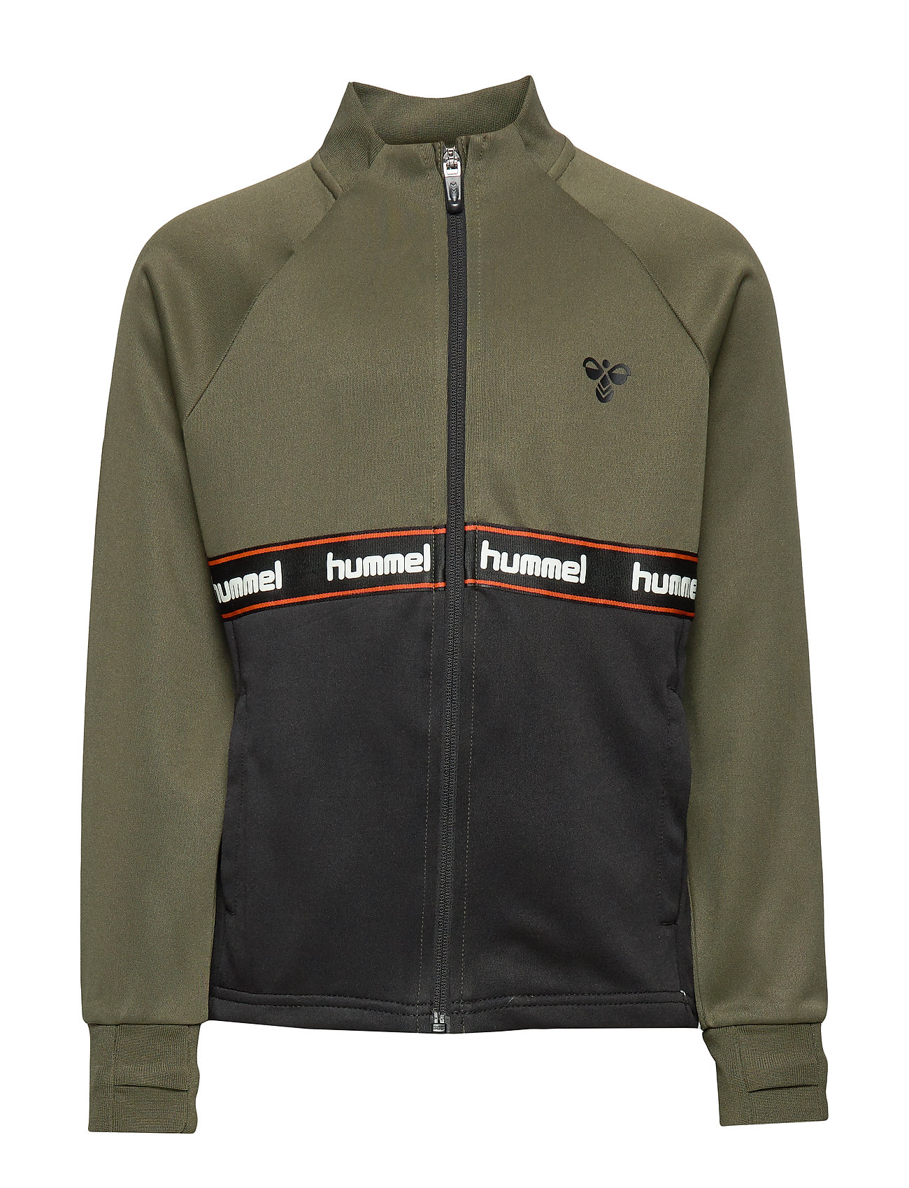 Hummel hmlKANE ZIP JACKET - OLIVE NIGHT