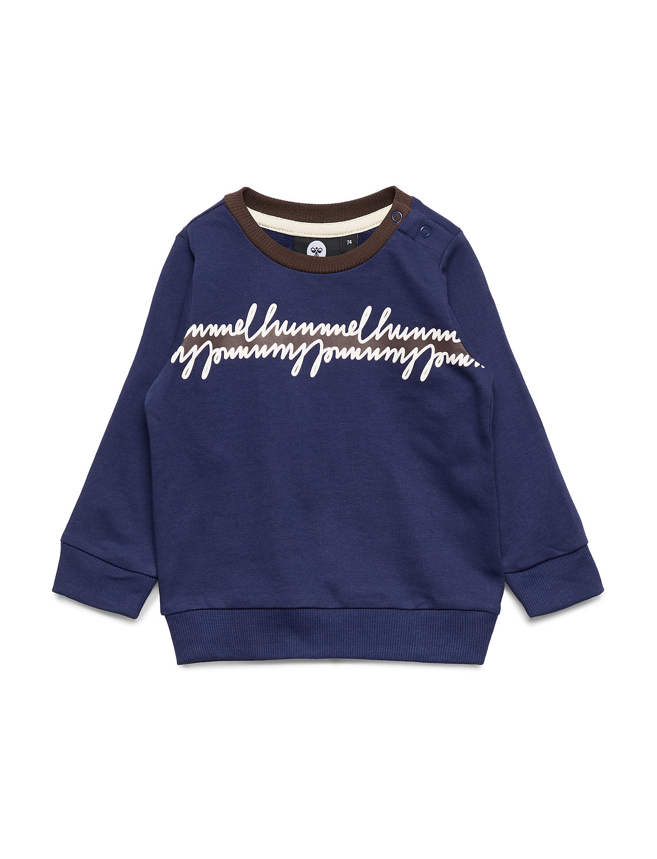 Hummel hmlJEPPE SWEATSHIRT - PATRIOT BLUE