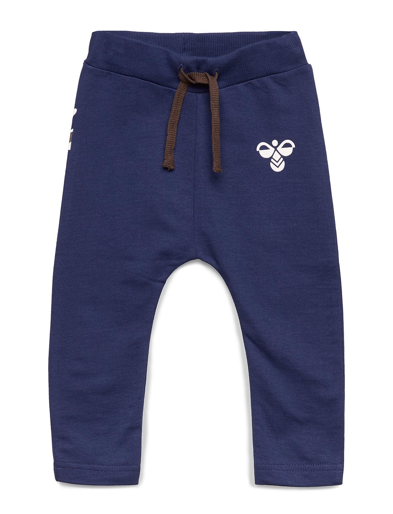 Hummel hmlJEPPE PANTS - PATRIOT BLUE