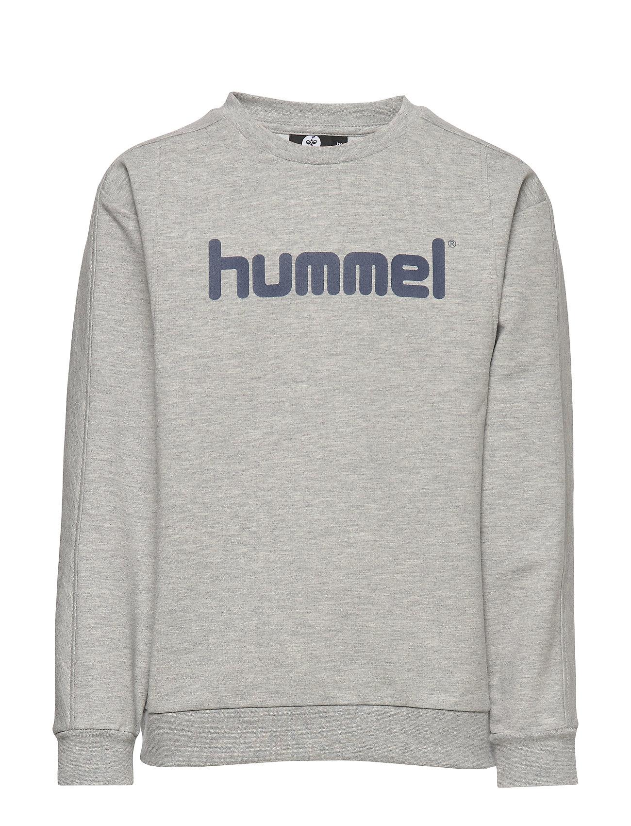 Hummel hmlWARIS SWEATSHIRT - GREY MELANGE