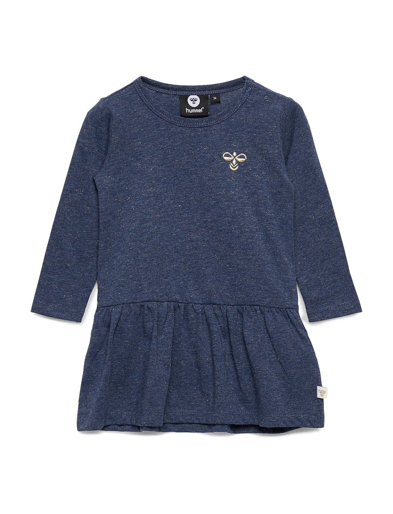 Hummel hmlJAZZIE DRESS L/S - DARK DENIM