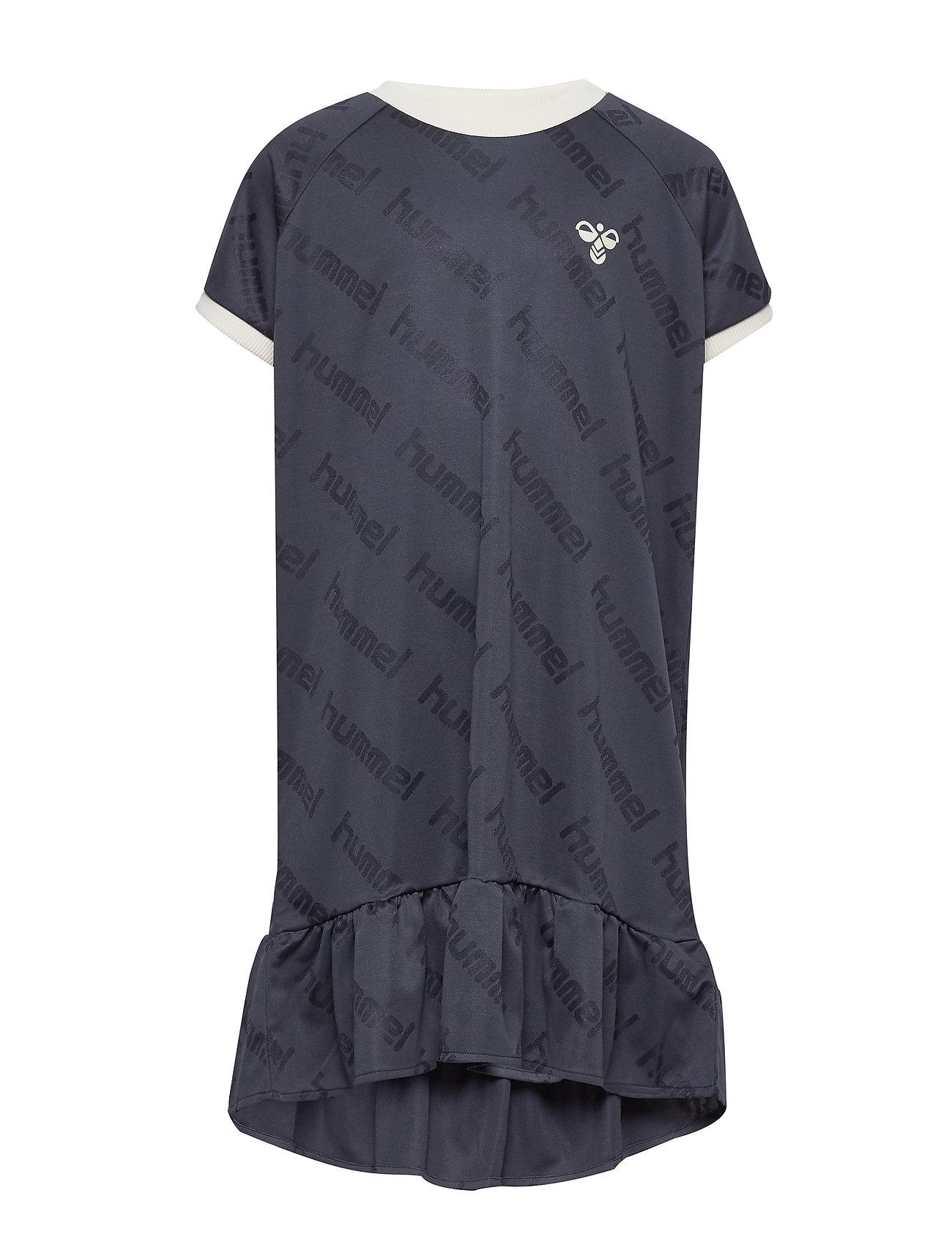 Image of Hmlsara Dress S/S Kjole Blå Hummel (3344406461)