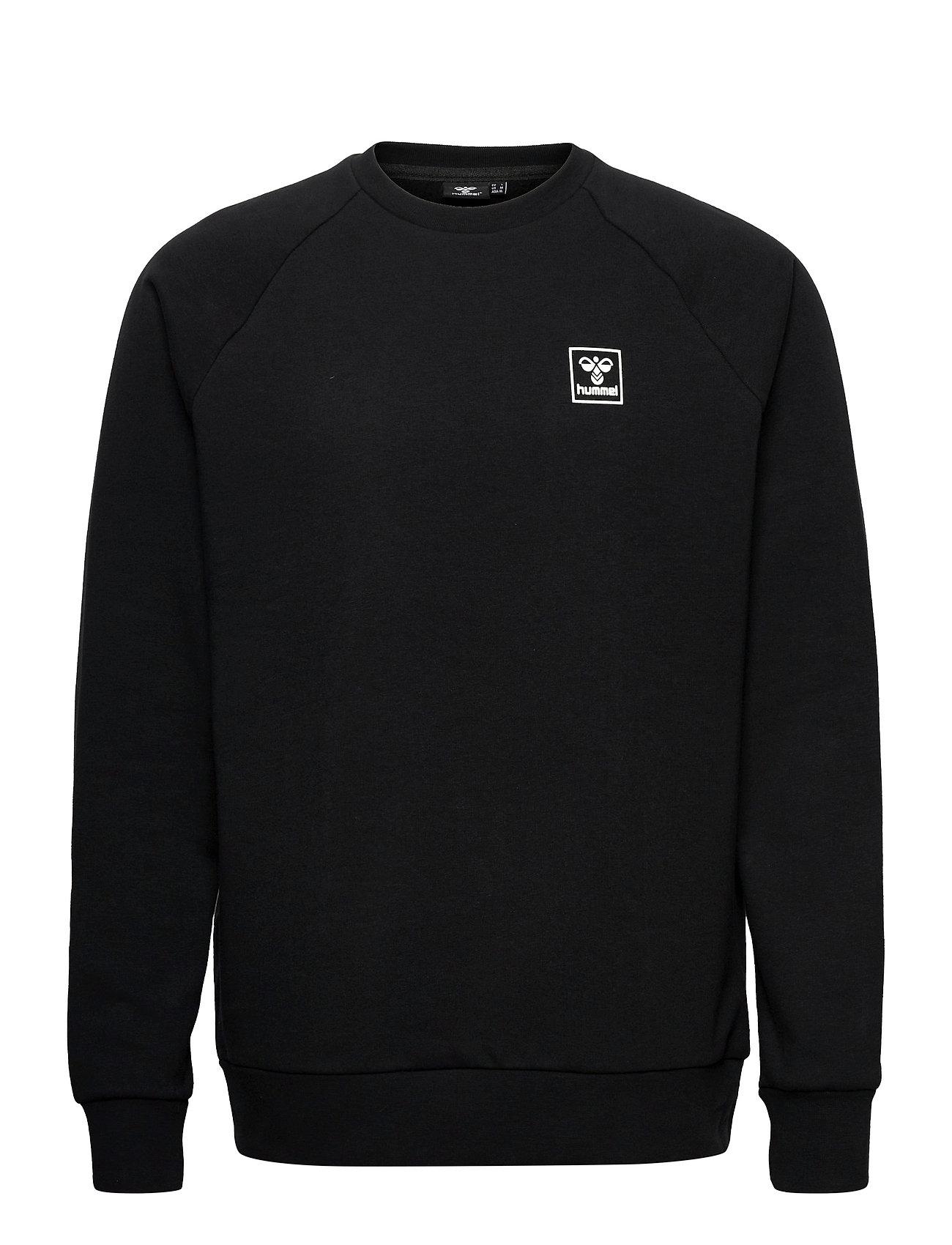 Hmlisam Sweatshirt Sweatshirt Trøje Sort Hummel