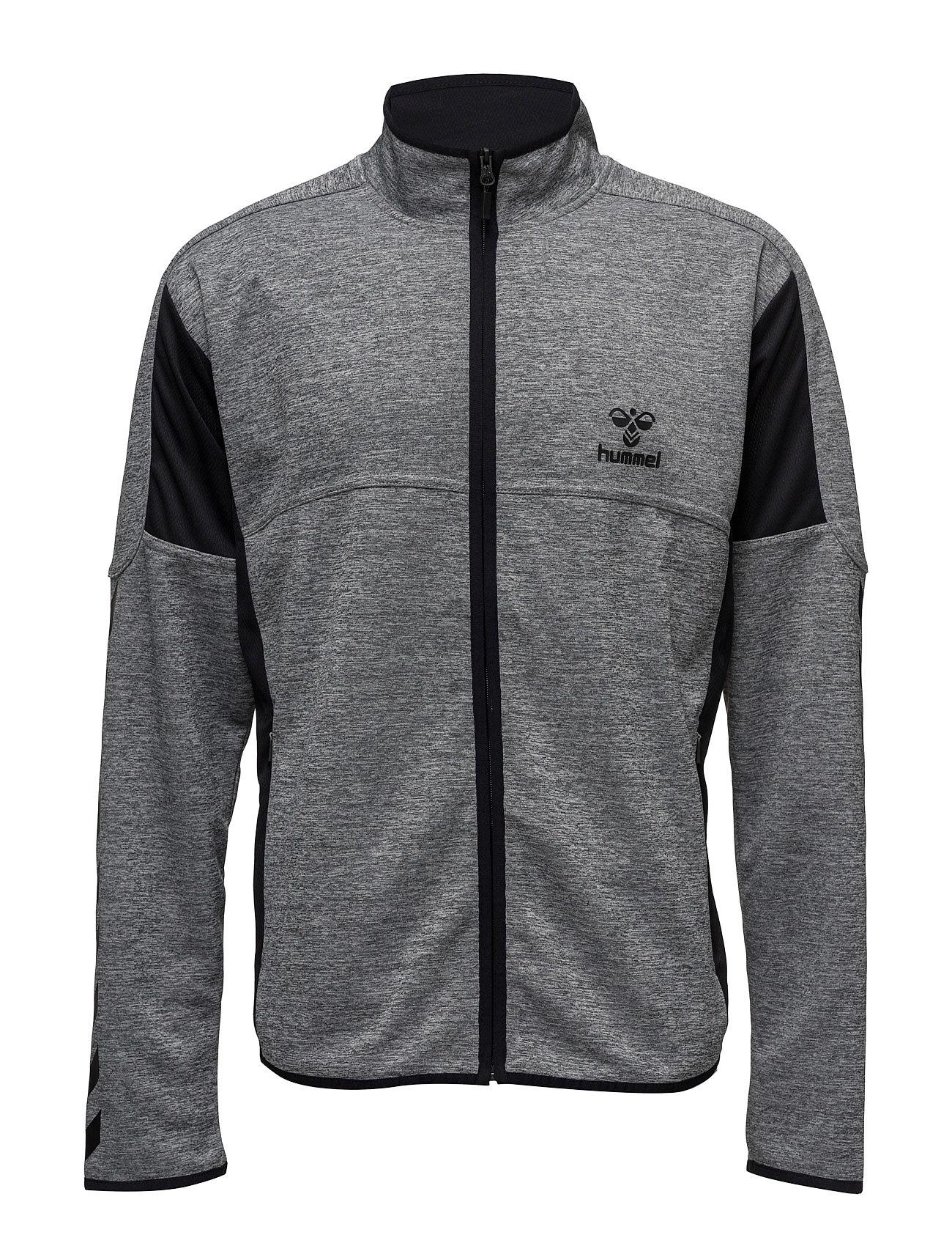 2fb161825 Classic Bee Phi Zip Jacket Sweatshirts & Hoodies Zip Throughs Grå HUMMEL