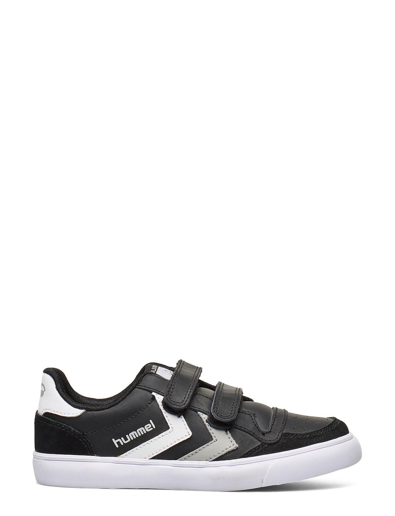 f3928add4e1 Hummel sneakers – Hummel Stadil Jr Leather Low til børn i BLACK/BLUE ...
