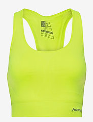 Hummel - SUE SEAMLESS SPORTS TOP - sportbeh''s: low - safety yellow - 0