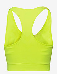 Hummel - SUE SEAMLESS SPORTS TOP - sort bras:high - safety yellow - 1
