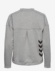 Hummel - CLASSIC BEE WO ZION SWEATSHIRT - sweatshirts - grey melange - 1
