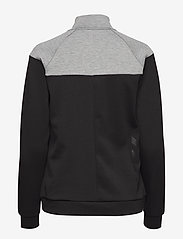 Hummel - CLASSIC BEE WO ZION ZIP JACKET - sweatshirts - black - 1