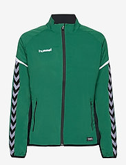 AUTH. CHARGE MICRO ZIPJKT W - EVERGREEN