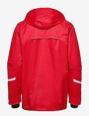 Hummel - AUTH. CHARGE ALL-WEATHER JKT - wandel- en regenjassen - true red/black - 2