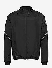 Hummel - REFLECTOR TECH JACKET - sweaters - black - 0