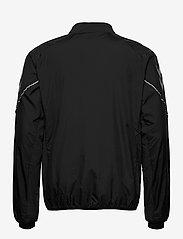 Hummel - REFLECTOR TECH JACKET - sweaters - black - 1