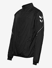 Hummel - REFLECTOR TECH JACKET - sweaters - black - 2