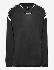 Hummel - AUTH. CHARGE LS POLY JERSEY - t-shirts à manches longues - black - 0