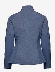 Hummel - HMLDALIA JACKET - sweats et sweats à capuche - sargasso sea melange - 1