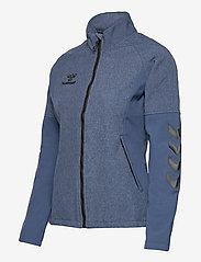 Hummel - HMLDALIA JACKET - sweats et sweats à capuche - sargasso sea melange - 2