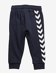 Hummel - HMLAPPLE PANTS - sweatpants - blue nights - 1