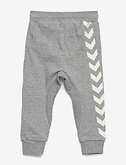 Hummel - HMLAPPLE PANTS - sweatpants - grey melange - 1
