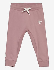 Hummel - HMLAPPLE PANTS - sweatpants - woodrose - 0