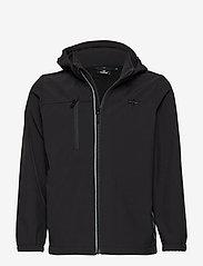 Hummel - HMLCHRISTER JACKET - insulated jackets - black - 0