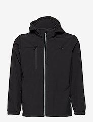 Hummel - HMLCHRISTER JACKET - insulated jackets - black - 1