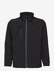 Hummel - HMLCHRISTER JACKET - insulated jackets - black - 4