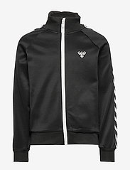 Hummel - HMLKICK ZIP JACKET - sweatshirts - black - 0