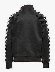 Hummel - HMLKICK ZIP JACKET - sweatshirts - black - 1
