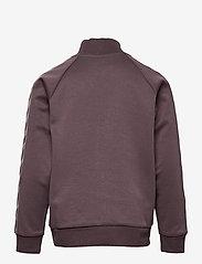 Hummel - HMLKICK ZIP JACKET - sweatshirts - sparrow - 1