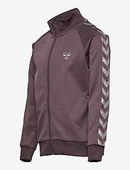 Hummel - HMLKICK ZIP JACKET - sweatshirts - sparrow - 2