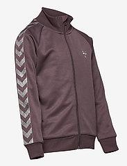 Hummel - HMLKICK ZIP JACKET - sweatshirts - sparrow - 3
