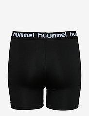 Hummel - HMLTONA TIGHT SHORTS - shorts - black - 1