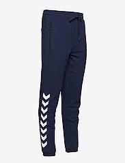 Hummel - HMLRAY PANTS - pants - black iris - 3