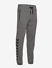 Hummel - HMLRAY PANTS - pants - dark grey melange - 2
